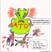 Tax Agent not forwarding your payments to the ATO.